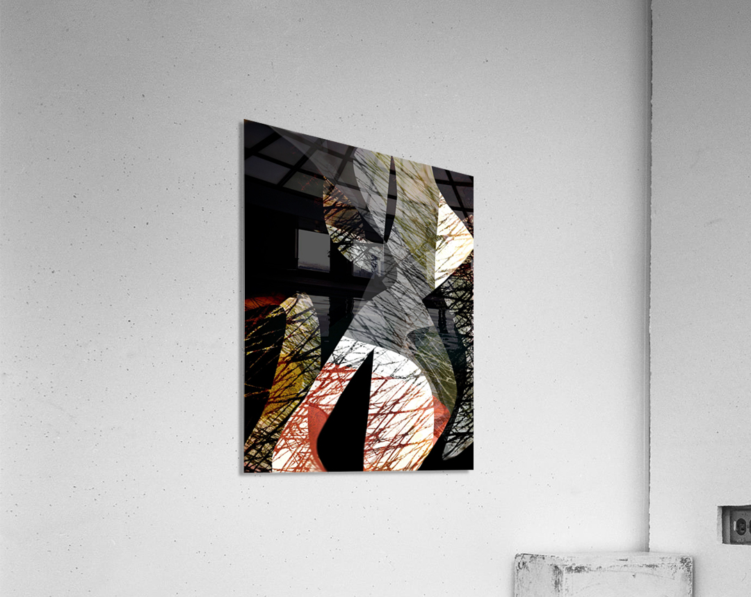 J A Z Z  Acrylic Print