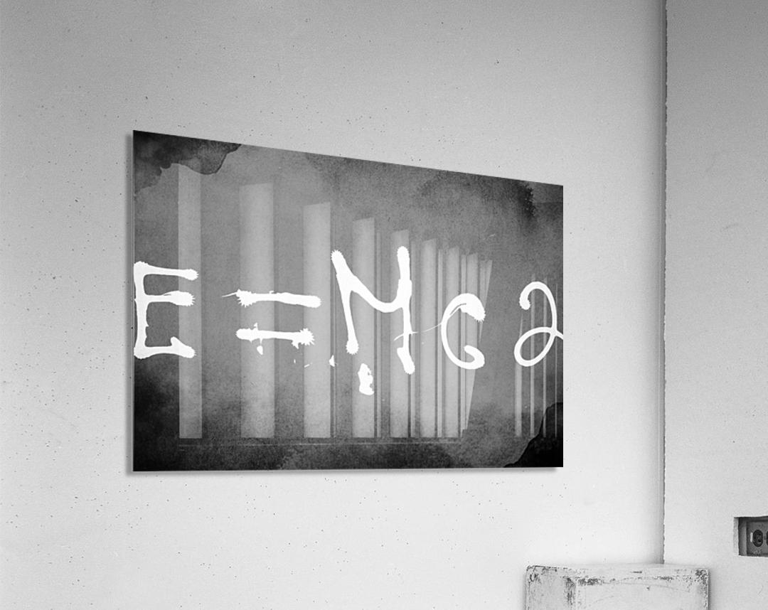 E=mc2  Acrylic Print