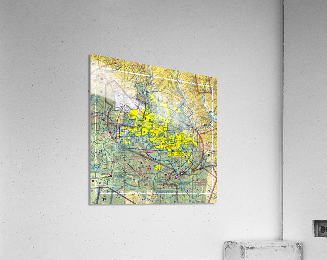 Phoenix AZ Aeronautical Wall Art  Acrylic Print