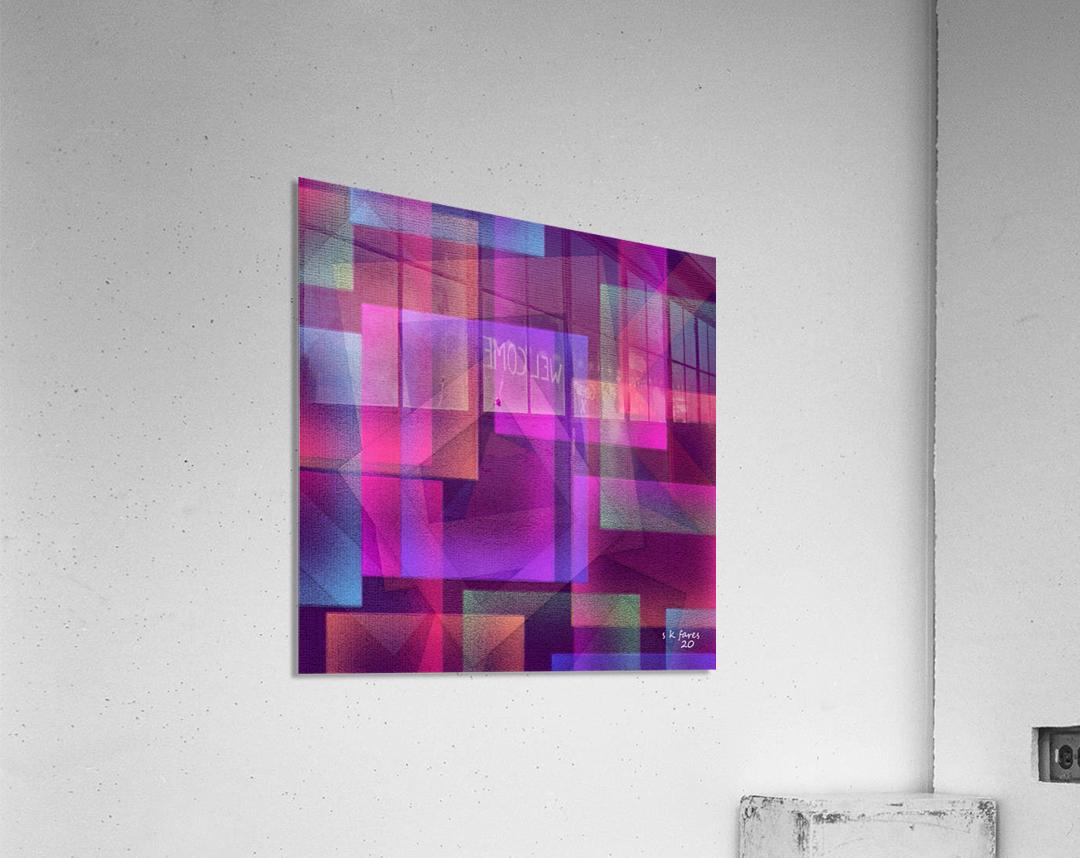 ART A MIX37  Acrylic Print