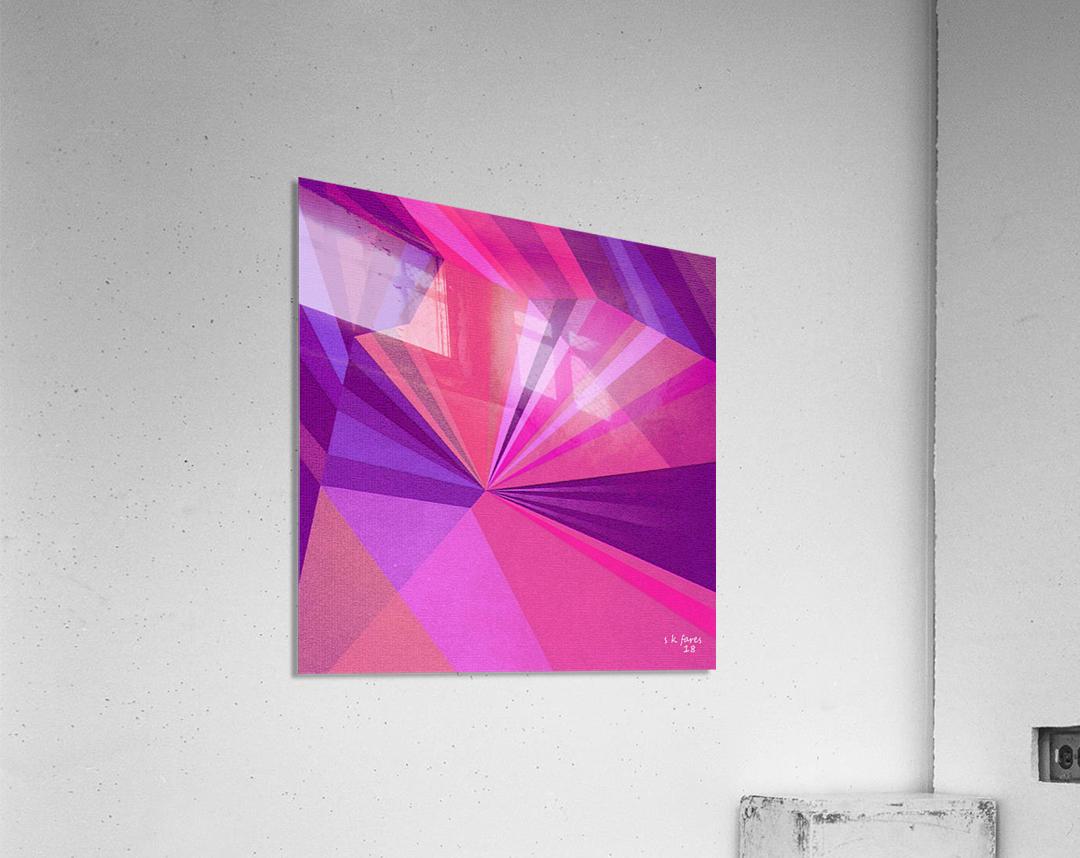 ABSRACT A MIX65  Acrylic Print