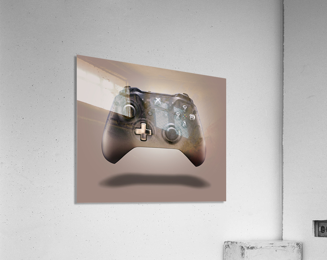 Gaming Controller v2 [extra large]  Acrylic Print