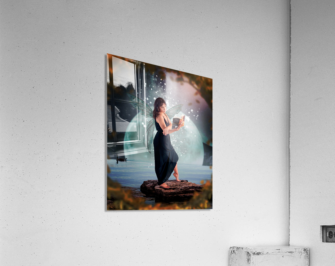 Fairy portrait  Acrylic Print