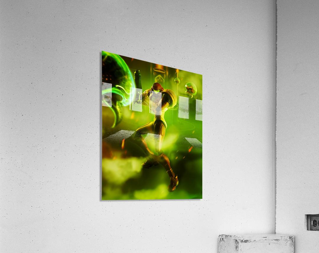 Samus Aran Super Metroid  Acrylic Print
