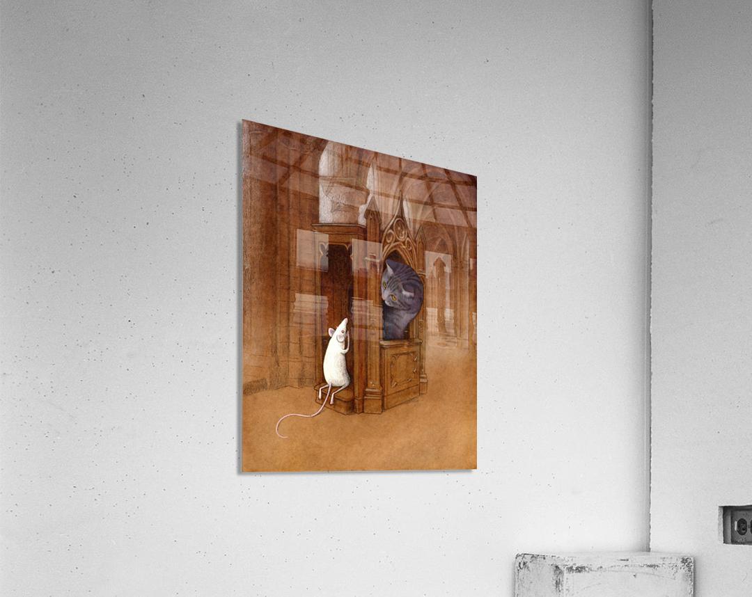 pure soul  Acrylic Print