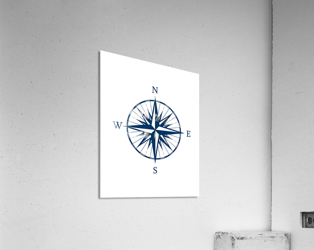 COMPASS ROSE  Acrylic Print