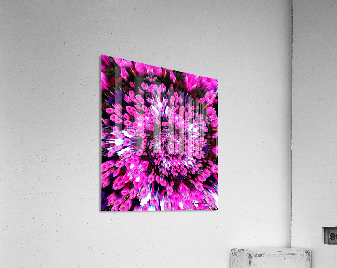 Getting Lost in Pink  Acrylic Print