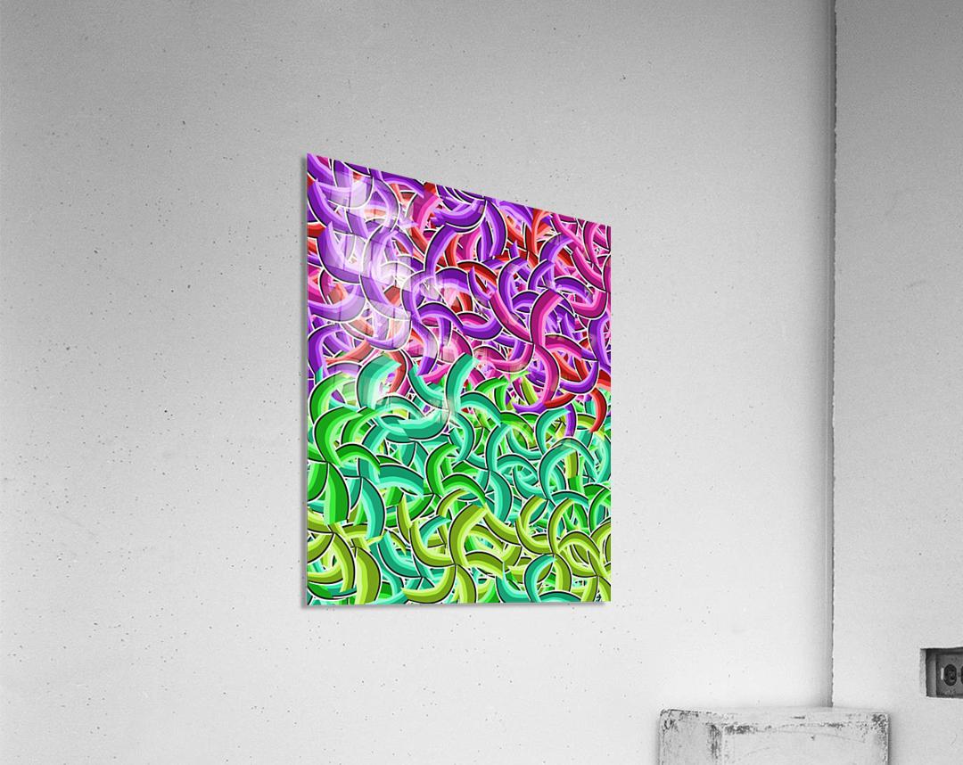 curve 1  Acrylic Print
