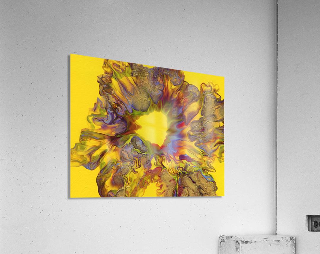 Fire Bloom   Acrylic Print