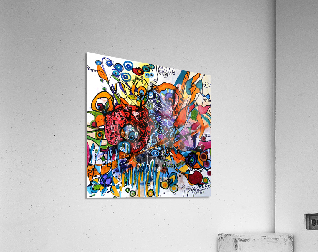 geana pamantului  Acrylic Print