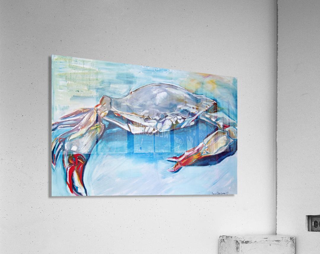 Louisiana She Soft Shell Crab  Acrylic Print