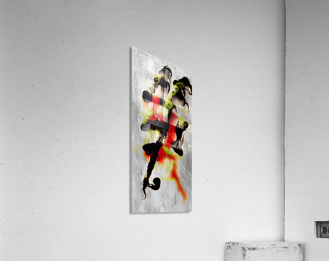 Zen Art1  Acrylic Print