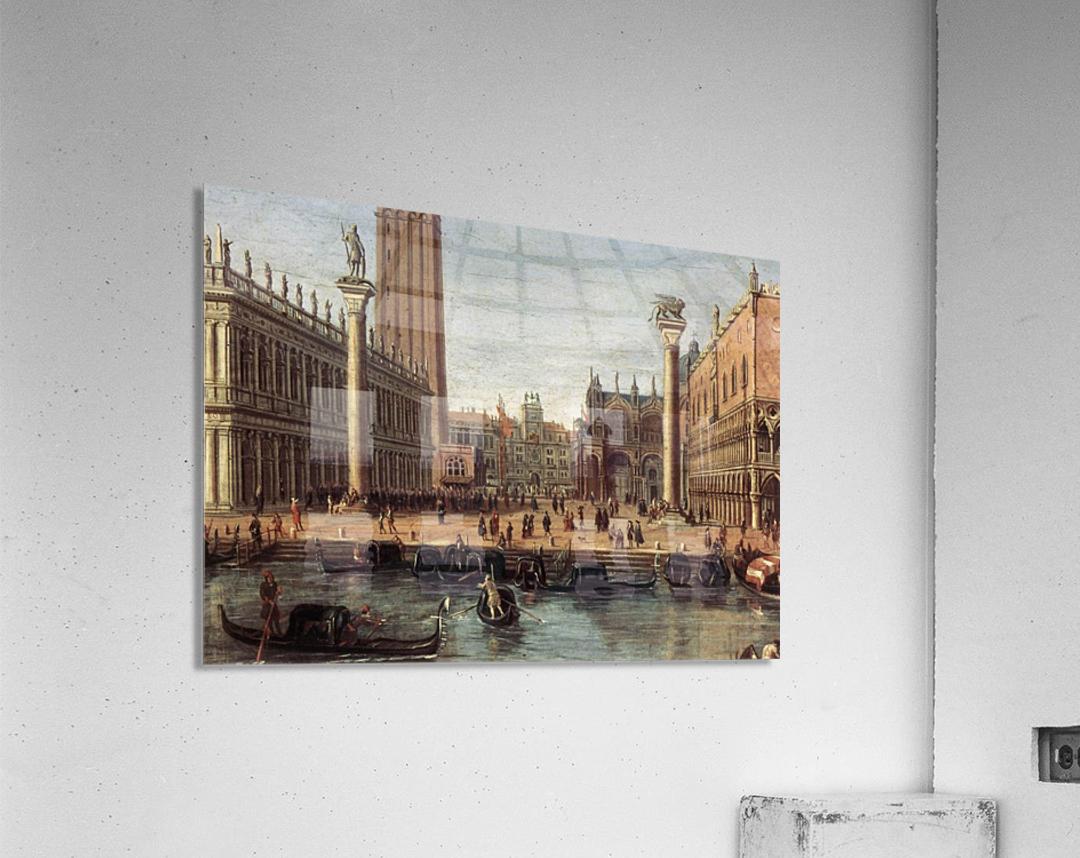 The Piazzetta from the Bacino di San Marco  Acrylic Print
