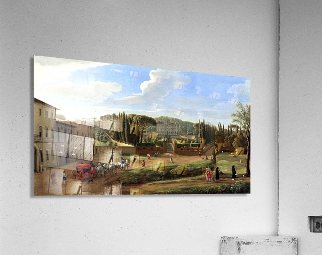 A view of the Villa Aldobrandini  Acrylic Print