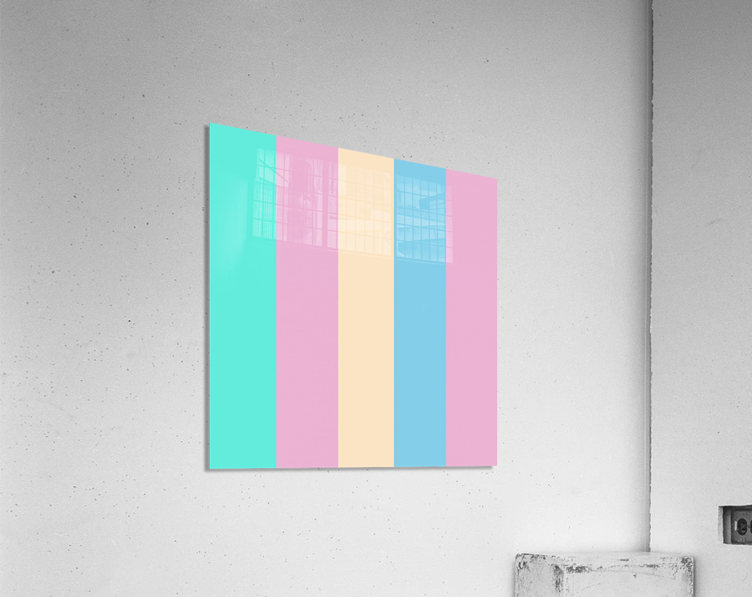 Pastel Palette  Acrylic Print