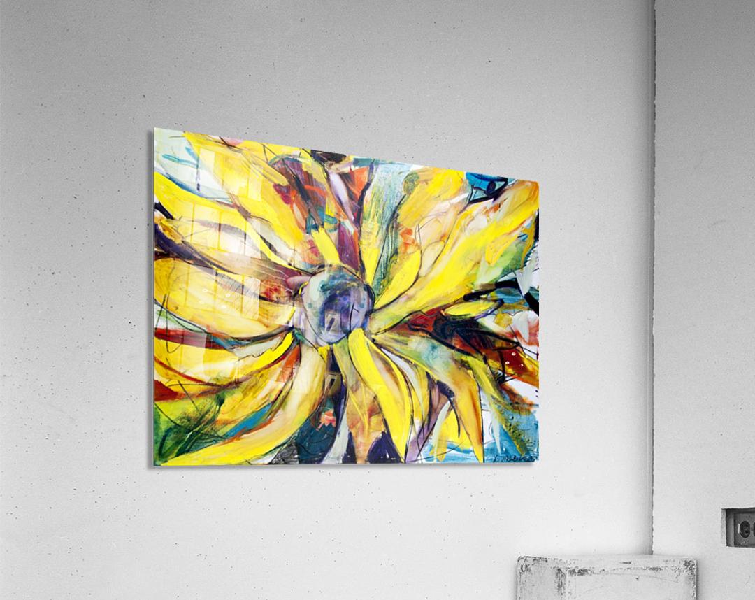 Louisiana Sunflower II  Acrylic Print
