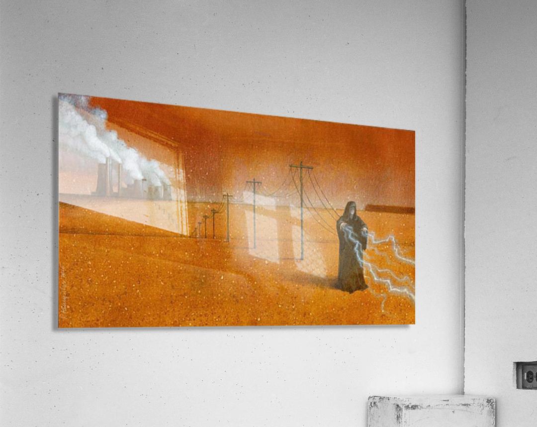 dark industry  Acrylic Print