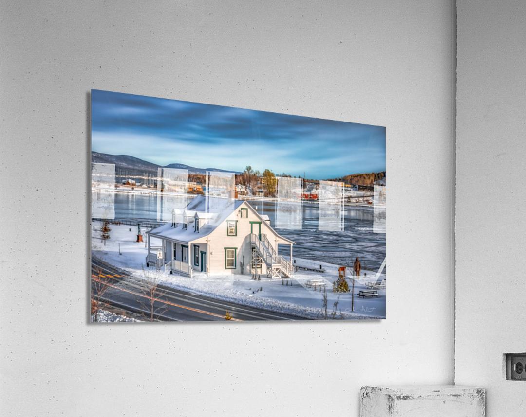 Premiere neige sur Gaspe  Acrylic Print