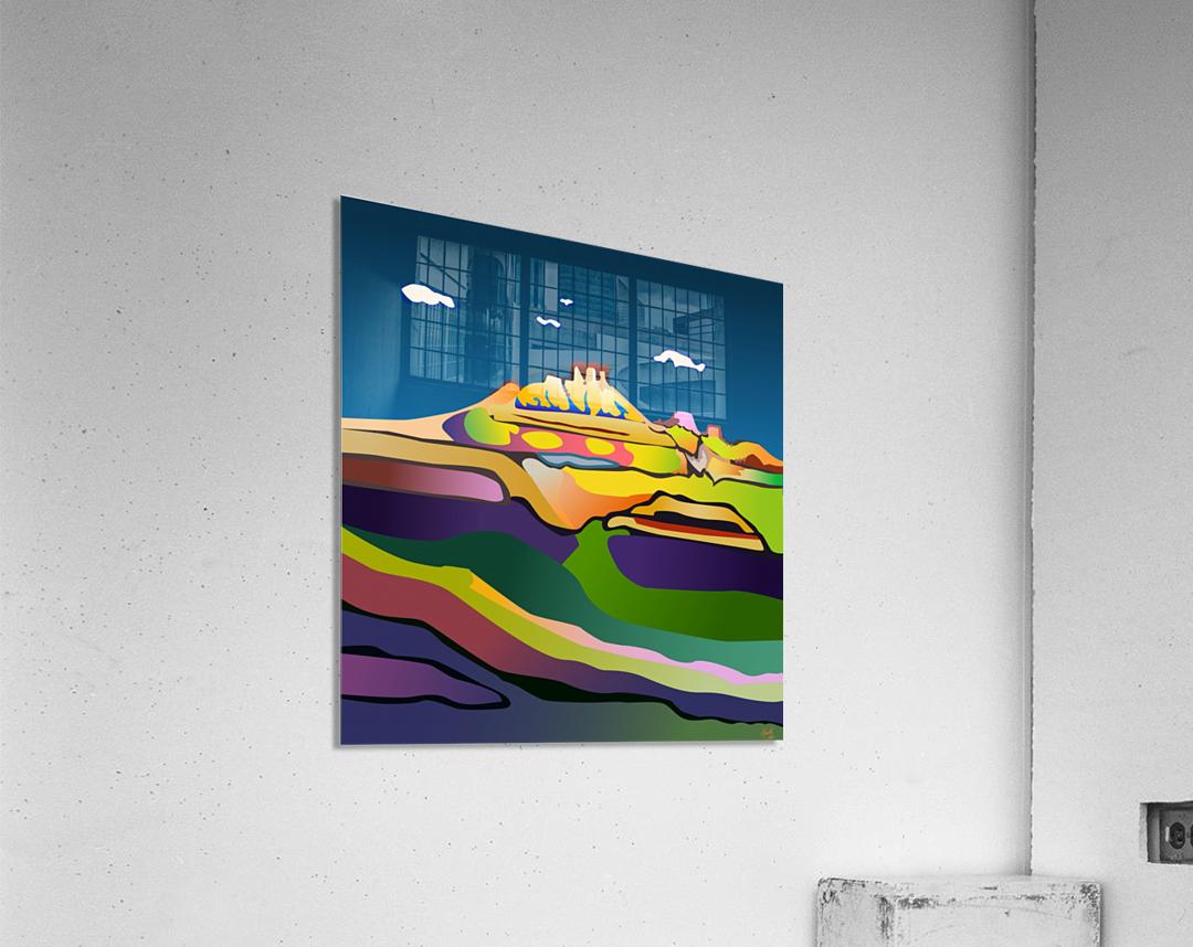 Rock Springs  Acrylic Print