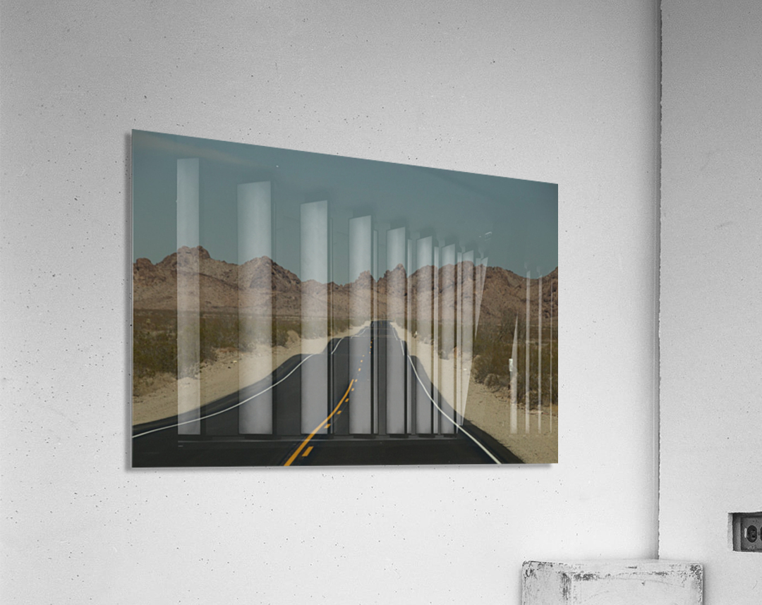 Desert Wave  Acrylic Print