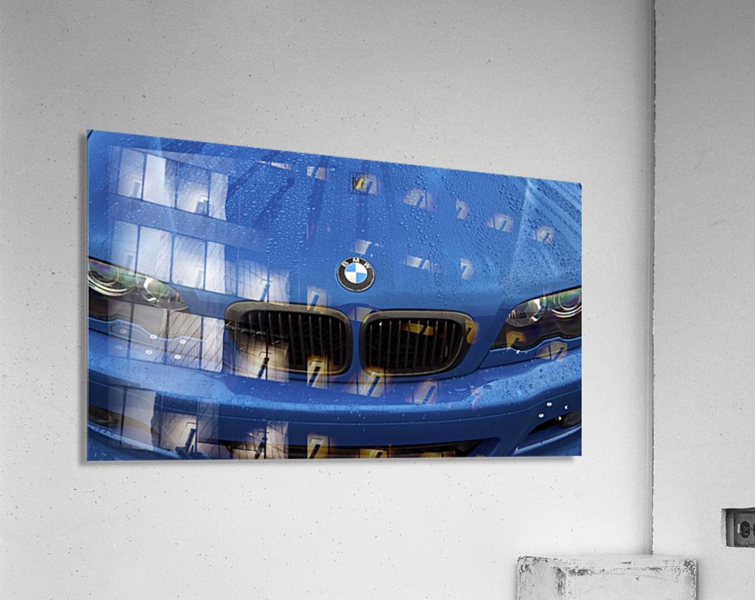BMW BLU REIGN  Acrylic Print