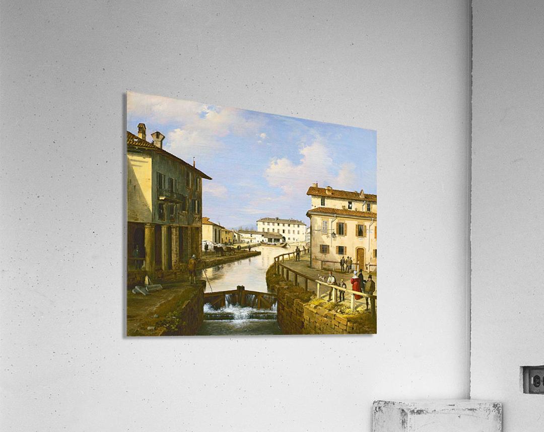 Il Naviglio dal ponte di San Marco  Acrylic Print