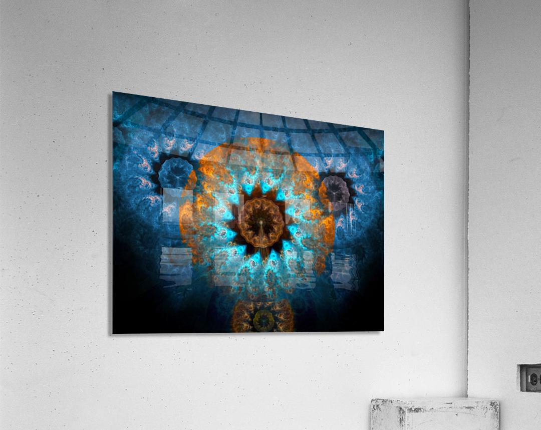 Pendant of winter sun  Acrylic Print