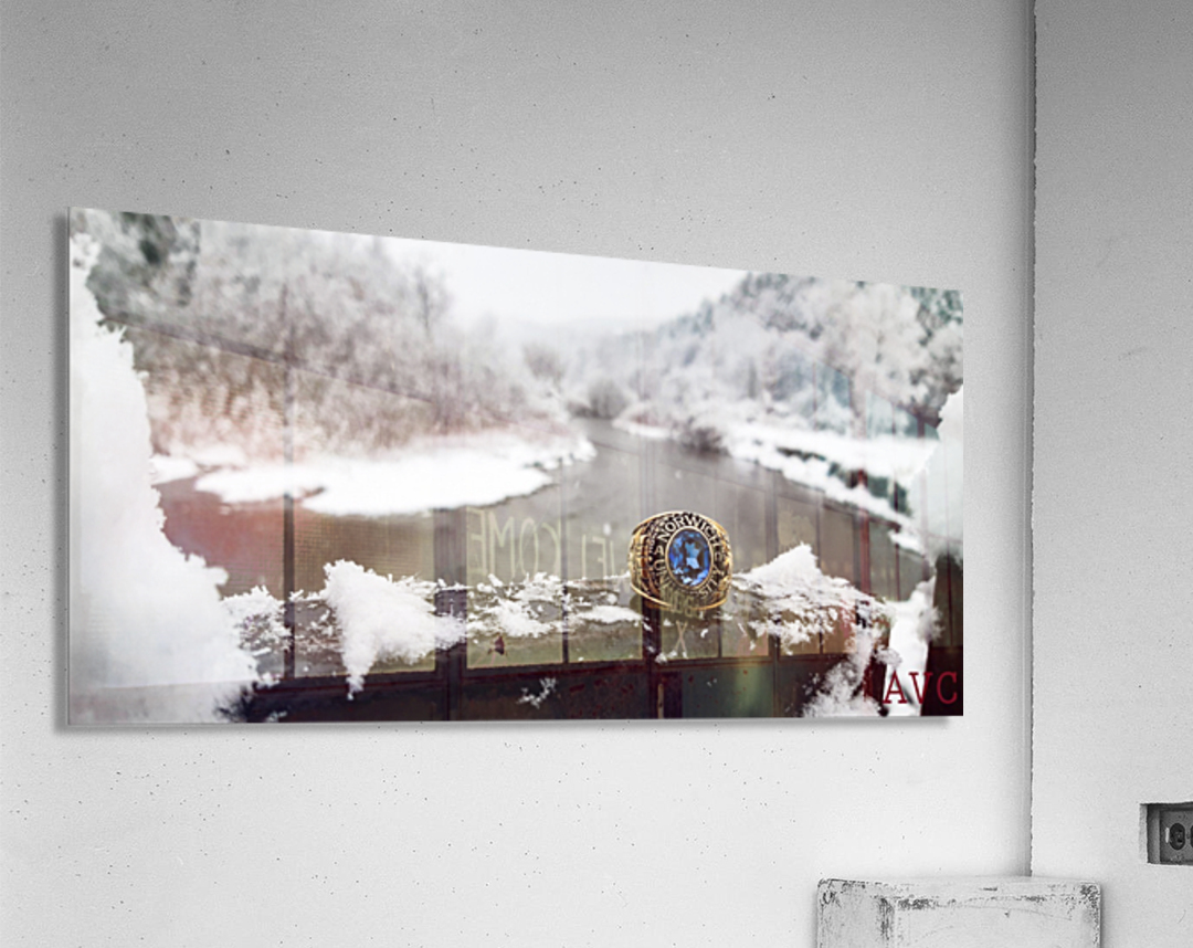 One for the Ring-- Winter  Acrylic Print