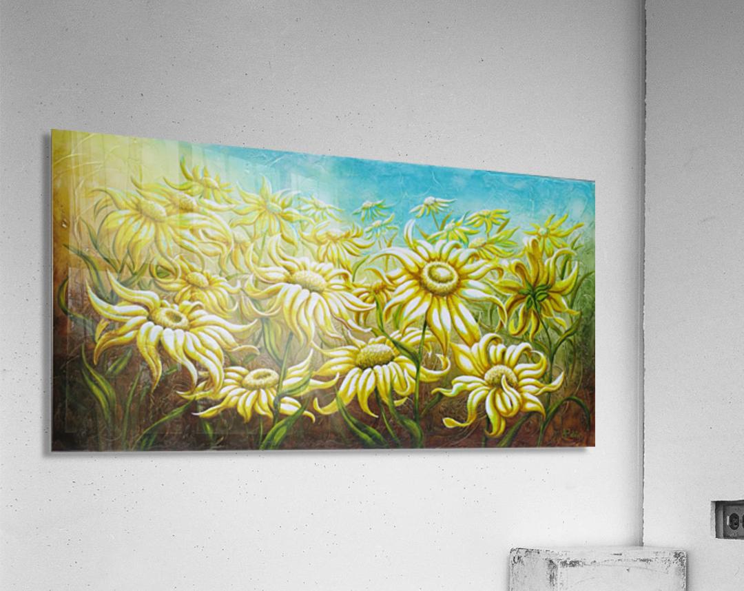 Splash of summer  Acrylic Print