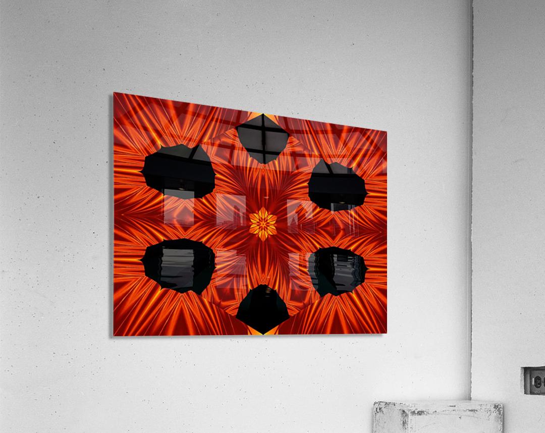 Fire Flowers 105  Acrylic Print