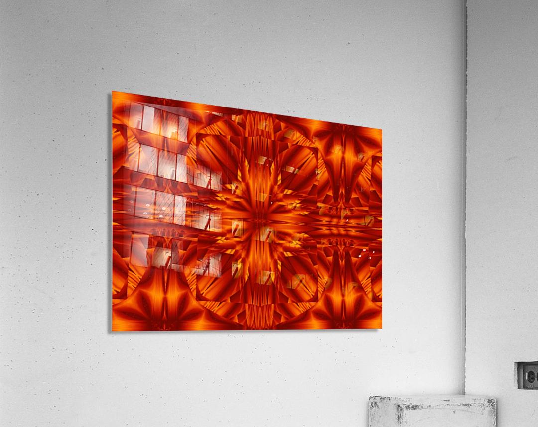 Fire Flowers 188  Acrylic Print