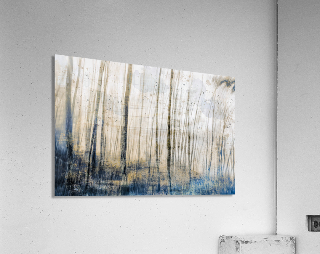 Tree Dreams in Blue  Acrylic Print