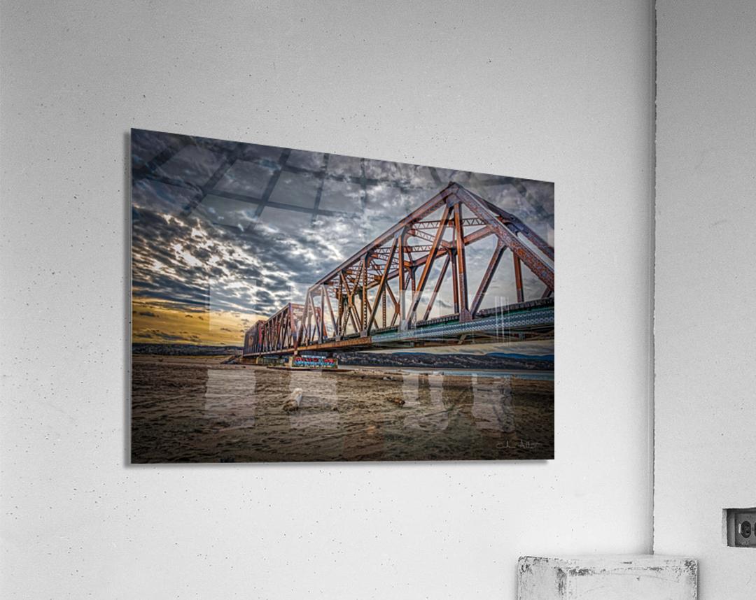 Pont de fer Haldimand  Acrylic Print