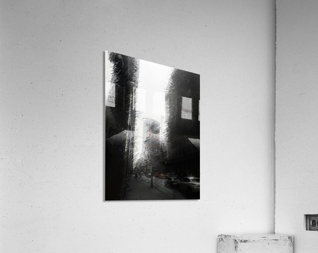 Skyscraper black and white   Acrylic Print