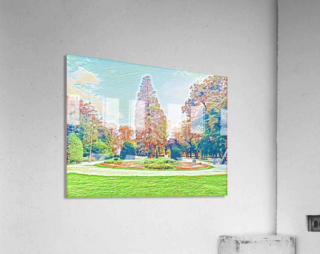 Garden Childhood  Acrylic Print