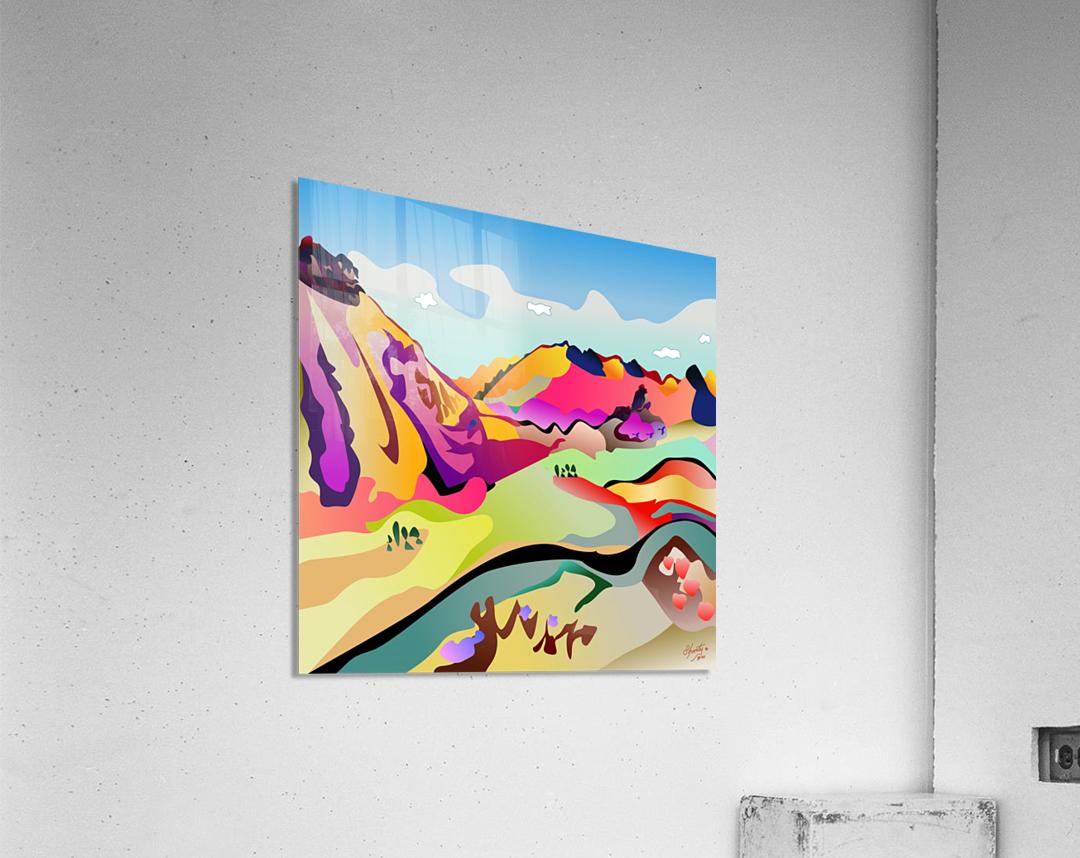 Sybille Range  Acrylic Print
