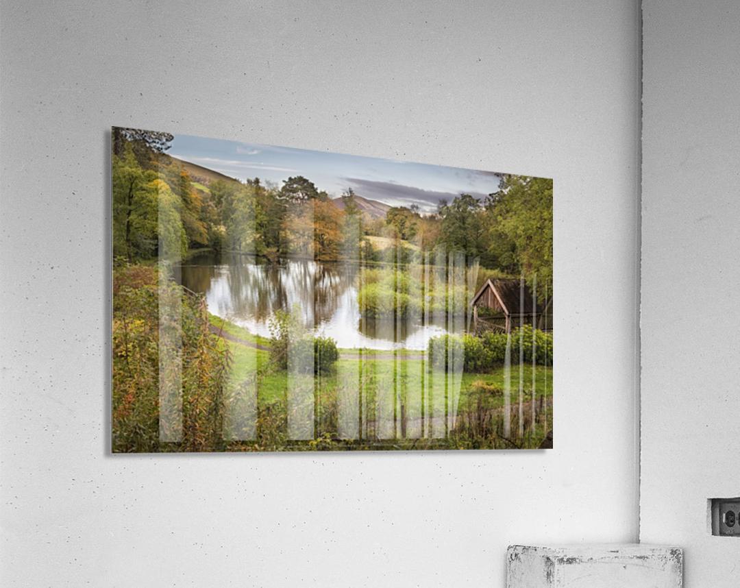Craig-y-Nos Country park  Acrylic Print