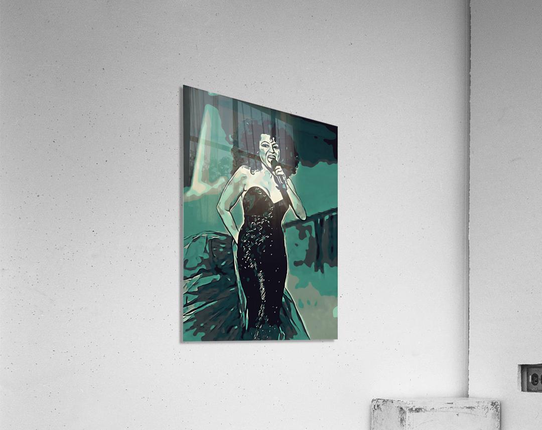 Diana_Ross_05  Acrylic Print