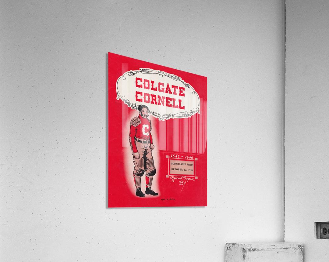 1946 Colgate vs. Cornell  Acrylic Print