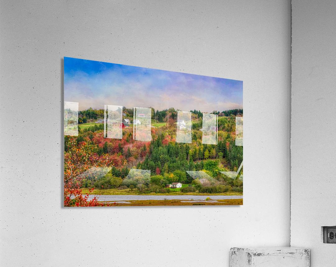 Arsenaults Hill  Acrylic Print