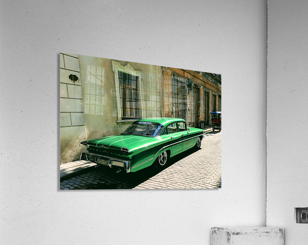 Cuba Past and Present  Acrylic Print