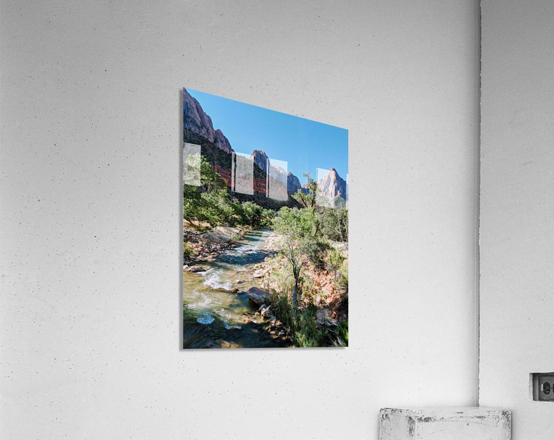 Zion in Morning Light  Acrylic Print