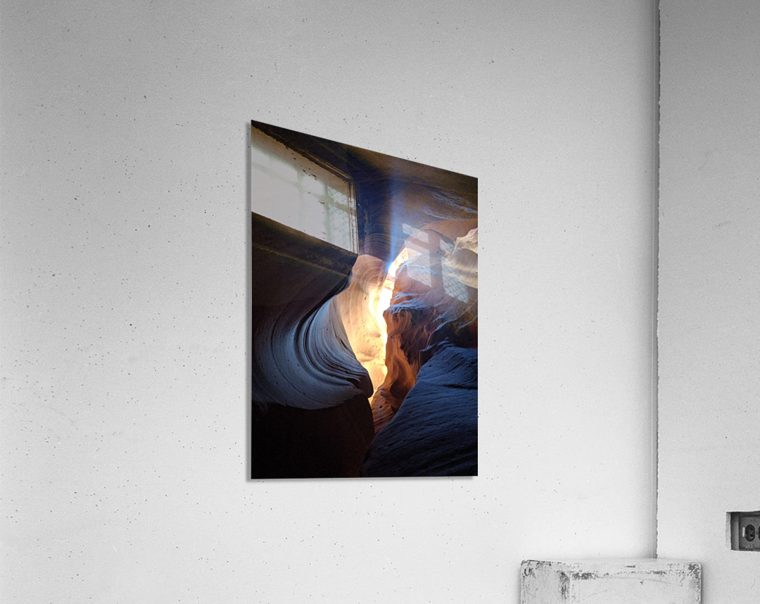 A Light in the Dark  Acrylic Print