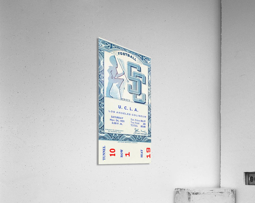 1951 USC vs. UCLA  Acrylic Print