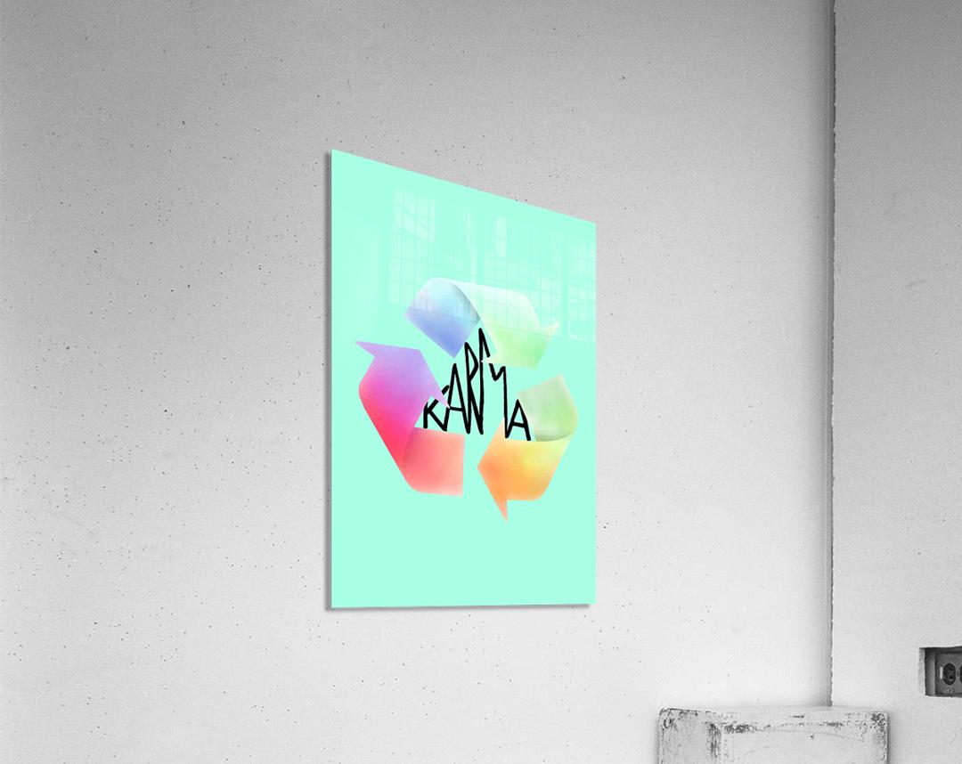 karma  Acrylic Print