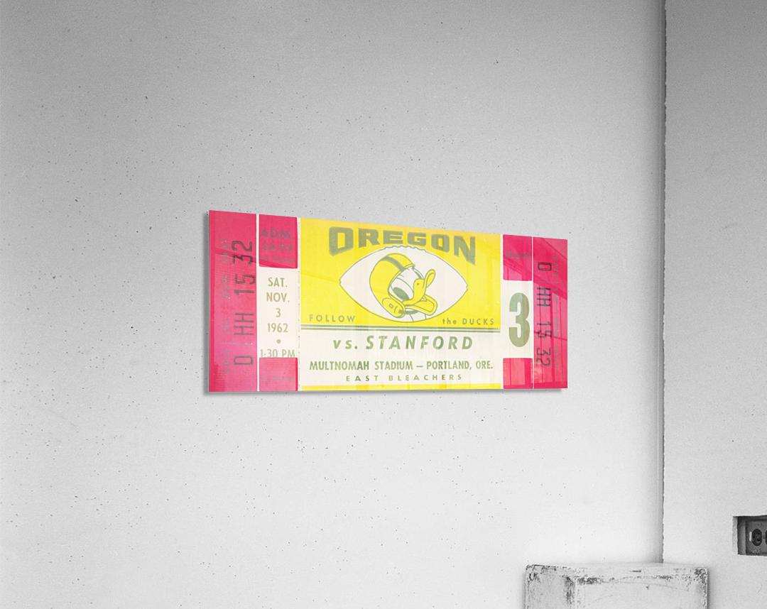 1962 Oregon vs. Stanford  Acrylic Print