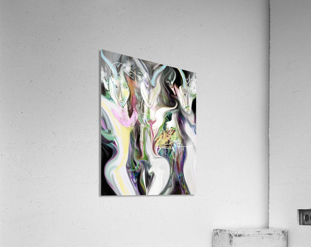 ME NAGE  Acrylic Print