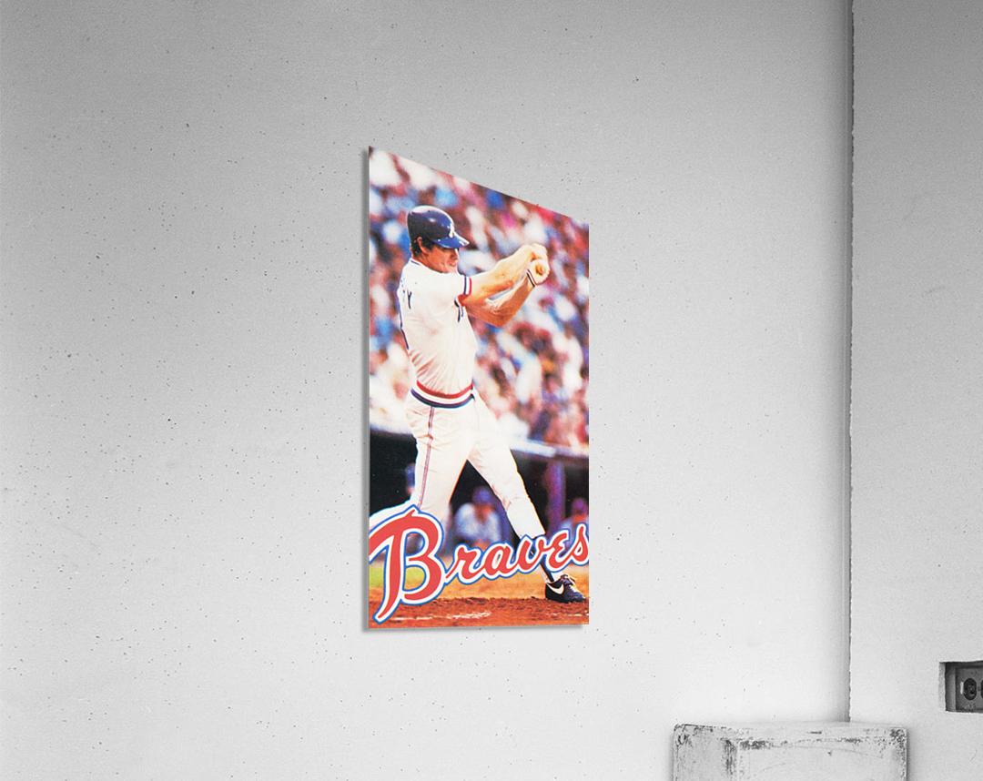 1983 Atlanta Braves Dale Murphy  Acrylic Print