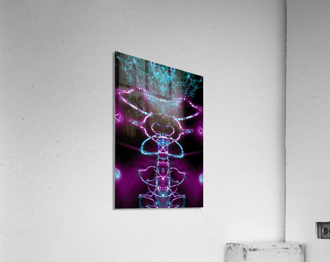 VERT PURP  Acrylic Print