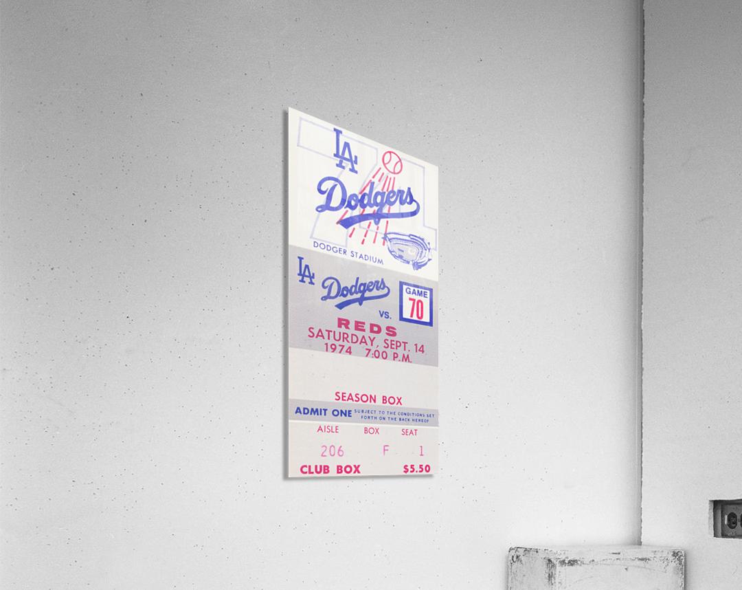 1974 LA Dodgers vs. Reds  Acrylic Print